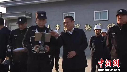 黑龙江省尚志市开展了秸秆禁烧应急处置演练