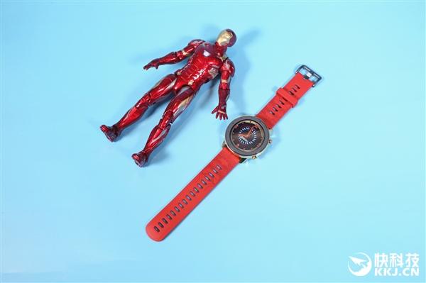 全球唯一编号 Amazfit GTR钢铁侠系列限量版图赏