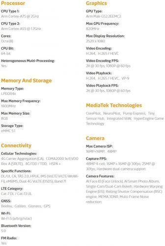 联发科发布全新入门级游戏处理器Helio G70/G70T 不支持5G