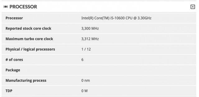 """英特尔十代酷睿""""敢越级"""":i5-10600与i7-8700性能相当"""