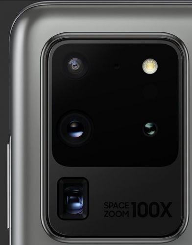 三星GalaxyS20 Ultra相机模组高清细节图曝光 配备三星自研的潜望式光学变焦模组