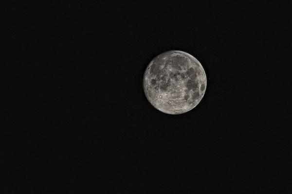 超级月亮来了:正月十五、十六又大又圆