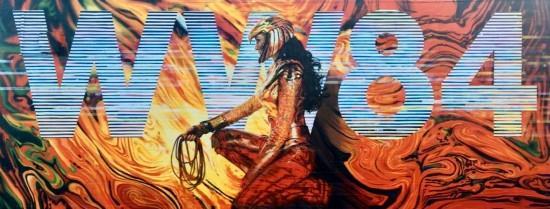《神奇女侠1984》街头海报曝光