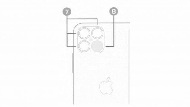 iPhone 12 Pro摄像头布局将调整 或将加入激光雷达传感器