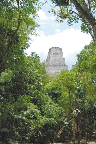 汞和藻类污染的发现 为玛雅文明消亡提供了新的观点和论据