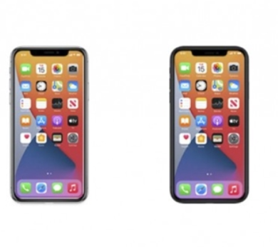 苹果新图标提前泄漏iPhone 12外形:此次采用直接边框设计